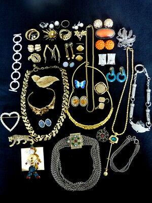 Alter Modeschmuck Konvolut zum basteln tragen , kein Gold kein Silber