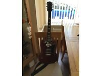 Westfield electric guitar and amp