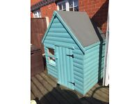 Childrens Playhouses 4ft X 3ft, finished natural not pained or stained