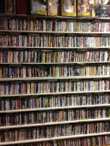 DVDs $2 each over 3000 DVDs comedy romance horror scifi