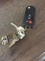 Found Mazda car keys