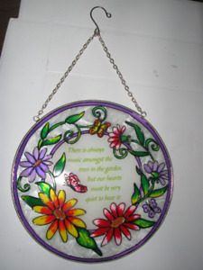 Glass ornament for the patio door or window or anywhere