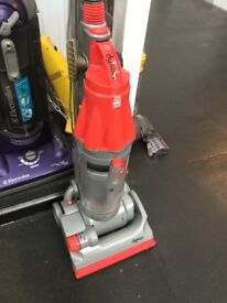 Red upright Vacuum Dyson dc07