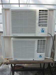 TWO-DANBY 5,250 BTU ELECTRONIC AIR CONDITIONERS **2 for $80