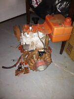 Parting out 5hp Tecumseh snowblower engine
