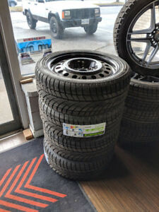 NEW! P225/45R17 Winter Tires and Steel Rims for Toyota/Lexus