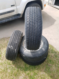 For good tires 215 70 R15 for sale $125