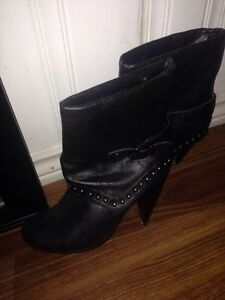 Fall boots - sexy boots - wedge size 6