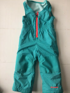 Columbia girls snow pants - 2T in excellent condition
