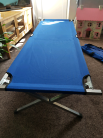 2 x extra strong camping beds