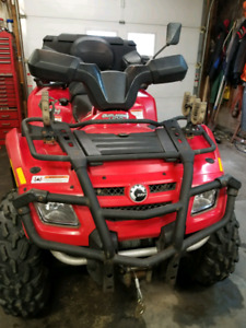 CanAm Outlander Max XT and trailer for sale