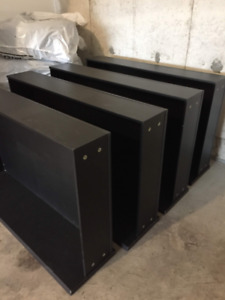 MALM Underbed storage box for queen size,, black (Two left)