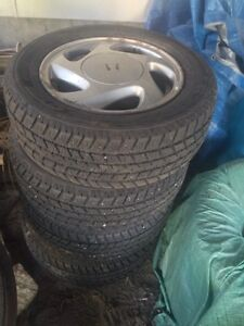 185/60r14 GT Radial Champiro Icepro - with rims $350