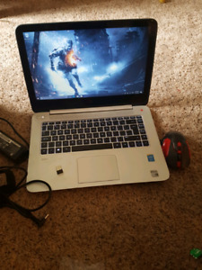 hp Envy(TOUCH《GAMING》i7(4CPUs){beats}8gb~1TB~intel HD+ NVIDIA2gb