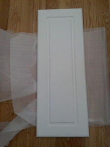 Cabinet doors - white - new