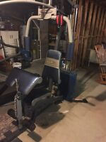 AS IS COMPETITOR HOME GYM! Asking $100