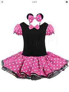 Costume minnie mouse 4-6 ans
