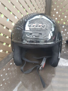 2 motorcycle helmets for sale & some shirts
