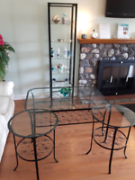 Spa Waiting Room Tables/Display Case