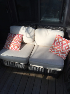 Outdoor Woven Sectional Chairs