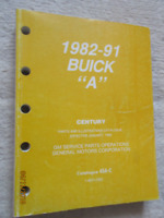 1992 Buick Century Parts & Illustrations book all models