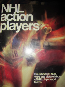 NHL Action Players picture album 1974/ 75 hockey cards