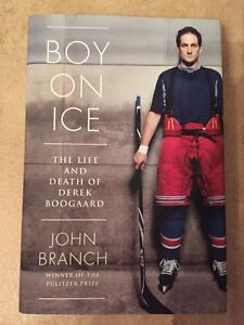 BOY ON ICE-The Life and Death of Derek Boogaard hard cover