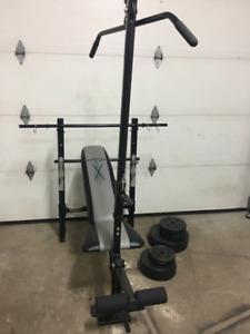 Bench press/multi station impeccable