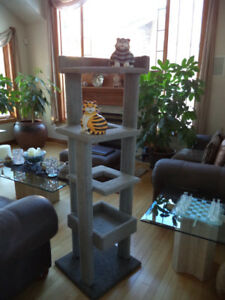 Multi-level Cat Tree & Activity Center- Stable and Very Durable