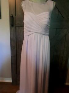 David's bridal lavender dress