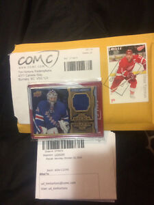 Tim Hortons relic card