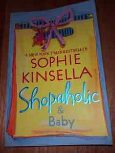 Shopaholic and baby by Sophie Kinsella LIKE NEW