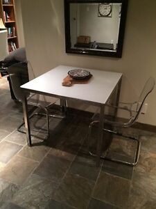 Torsby dining table and 2 Tobias Chairs