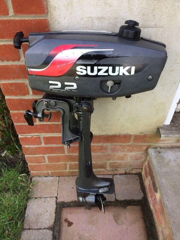 Suzuki outboard motor in bournemouth dorset gumtree for Suzuki 2 5 hp motor