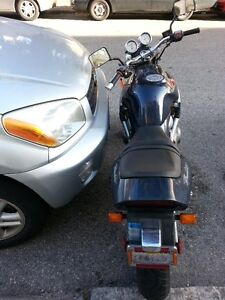 Motorcycle parking - share  parking stall with Car