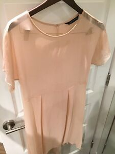 Zara sheer dress