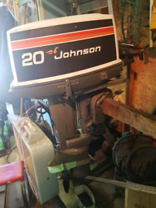 20hp Johnson in need of service