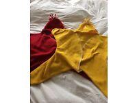 Star shaped baby fleece blanket