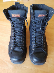 Harley Davidson Ironworker Style Riding Boots