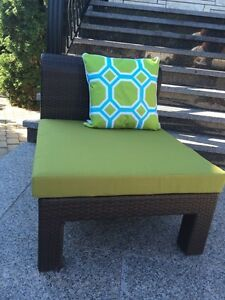 Outdoor Patio Wicker Sofa Chairs (set of 4)