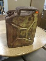Vintage Decorative Gas Can