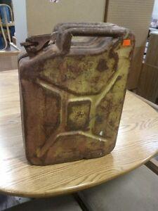 Vintage Decorative Gas Can