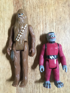 Original Issue 1977 Star Wars Action Figures