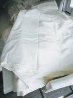 Elegant Ivory Wedding Linens