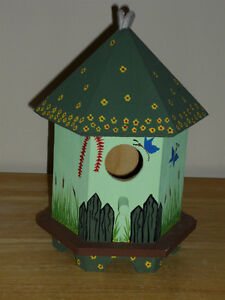 Birdhouses ... Indoor or Outdoor ... NEW ... never used ... Cambridge Kitchener Area image 1