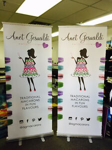 Retractable Banners, Roll Up Banners, pull up Banner Stand