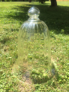 Vintage French Blown Glass Cloche