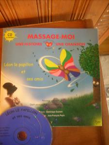 cd/livre massage pour enfants