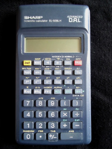 Calculatrice scientifique Sharp Calculator scientific EL-509LH