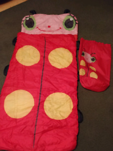 Ladybug sleeping bag